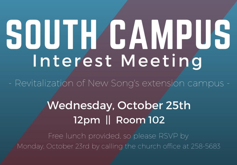 interest meeting flyer