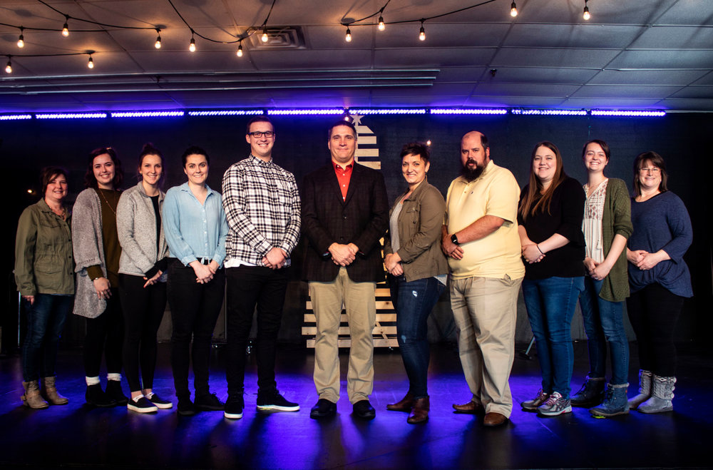 New Song Church Staff as of January 2019
