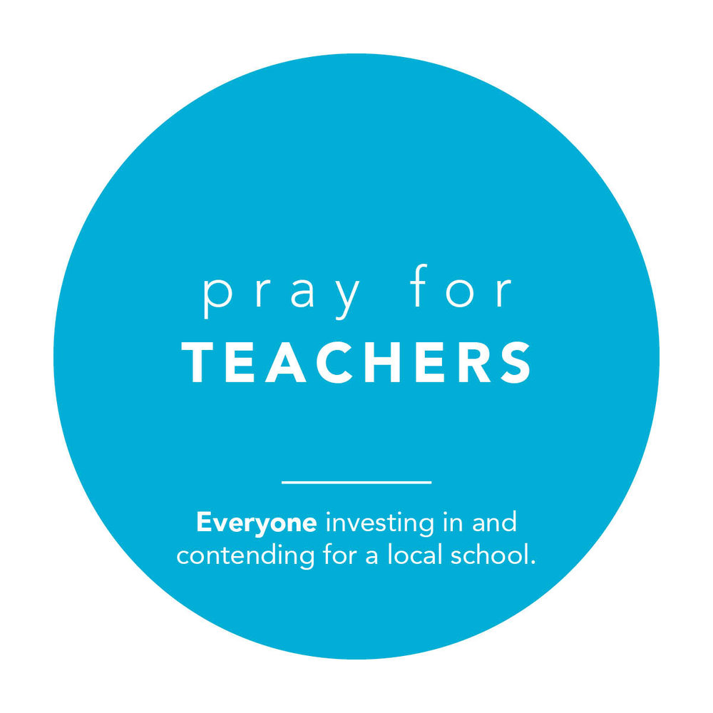 God, be with our teachers! those who give generously their time, passion, energy, and knowledge for the learning and flourishing of others  As they enter their classrooms (whether at home, online, or a school campus) As they manage their time As they balance their schedules As they navigate the complex realities of their world and their students' worlds  May they be met with Peace May they be granted Wisdom May they teach from an overflow of Abundance May they be stirred with Inspiration  for the sake of their students for the sake of the next generation for the sake of the world!  Amen?  Amen!
