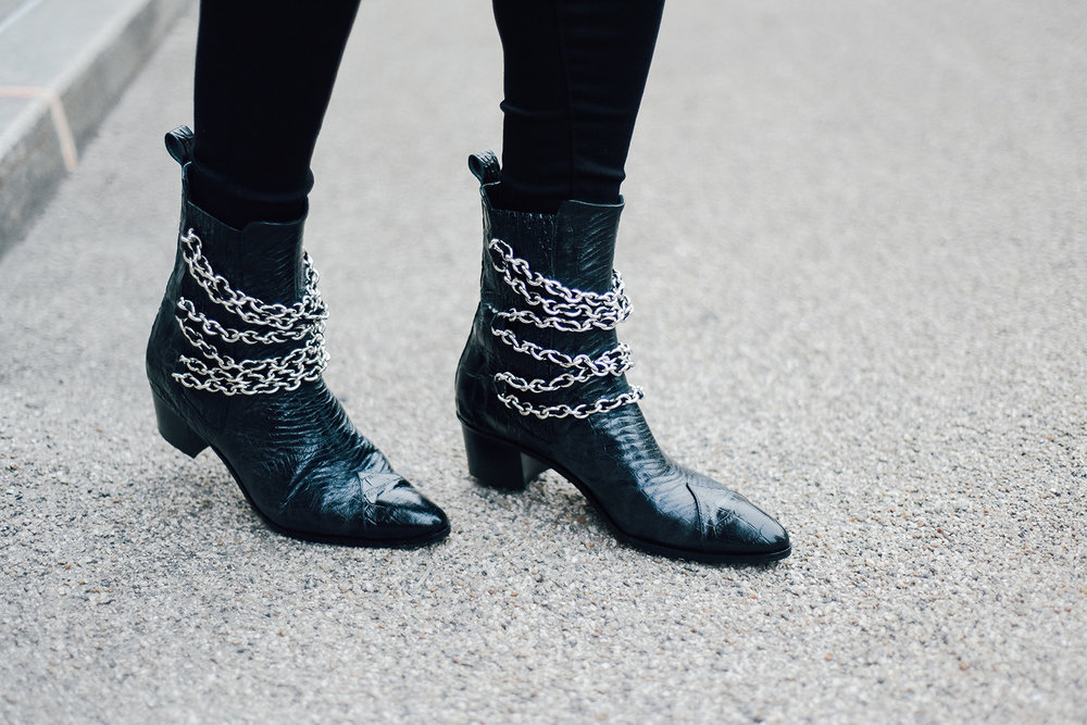 modern vice silver chains booties.jpg