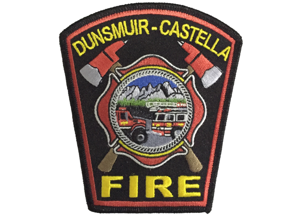 Dunsmuir-Castella Department Patch