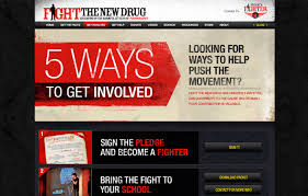 Fight the New Drug's Website and branding in 2013