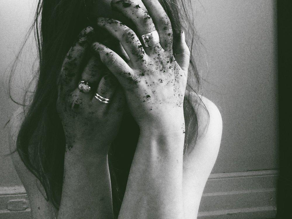 Hurt girl