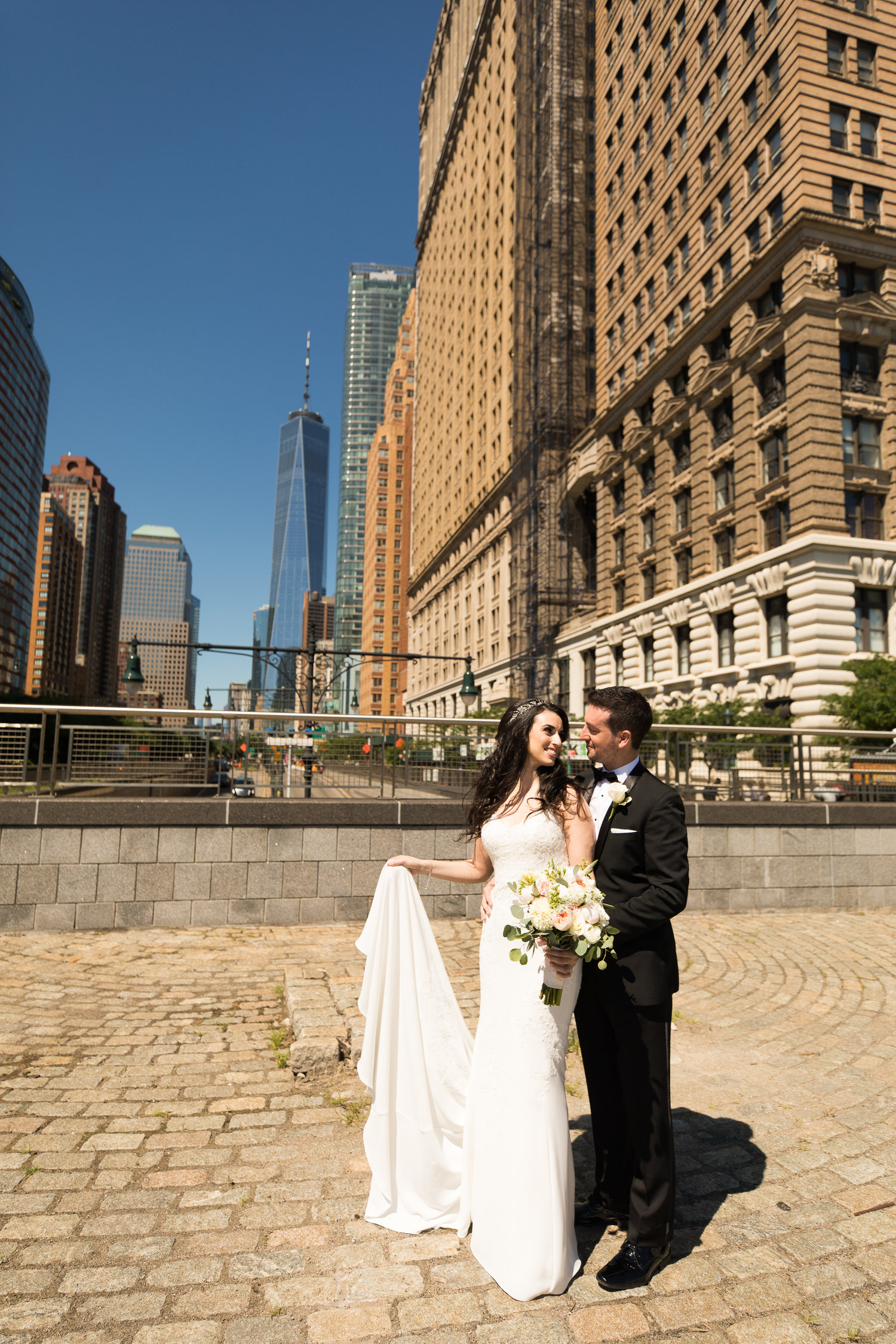 Rachel & Ben\'s Wedding at The Battery Gardens, NYC — RichardBFlores ...