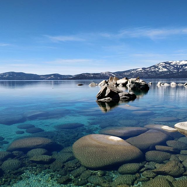 Morbid fun fact: Lake Tahoe is the last place you want to be for the zombie apocalypse. It's depth and low temperature staves off bacteria decay and would preserve anyone that may have met their demise in the lake. Despite the gruesome depths, is amazingly beautiful on the surface. #til #TaHoeYeahhhhhh #ducksyndrome #LiterallyDeepThoughts