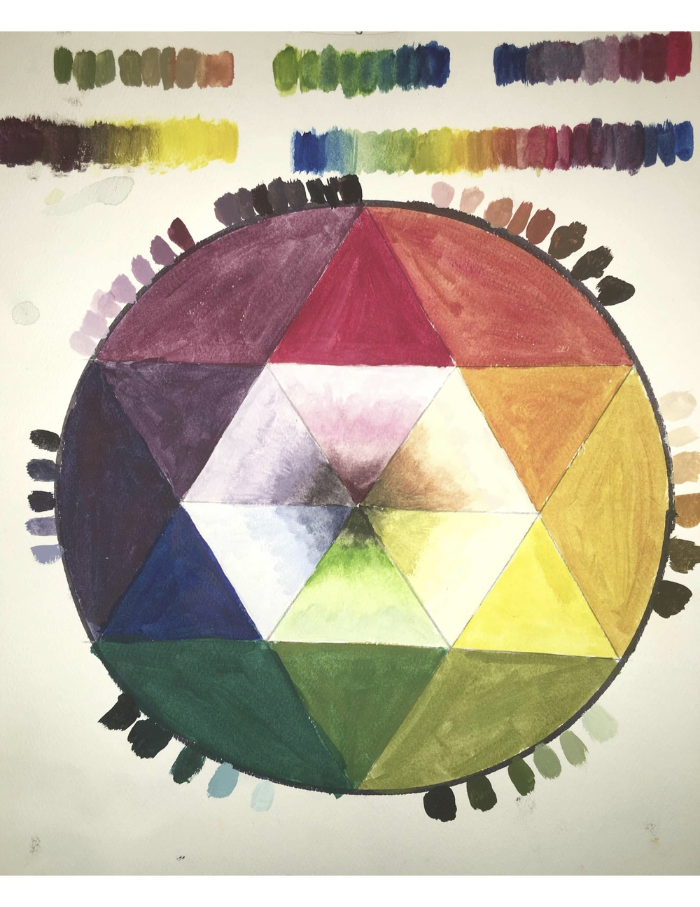 Emma Horner, Color Wheel