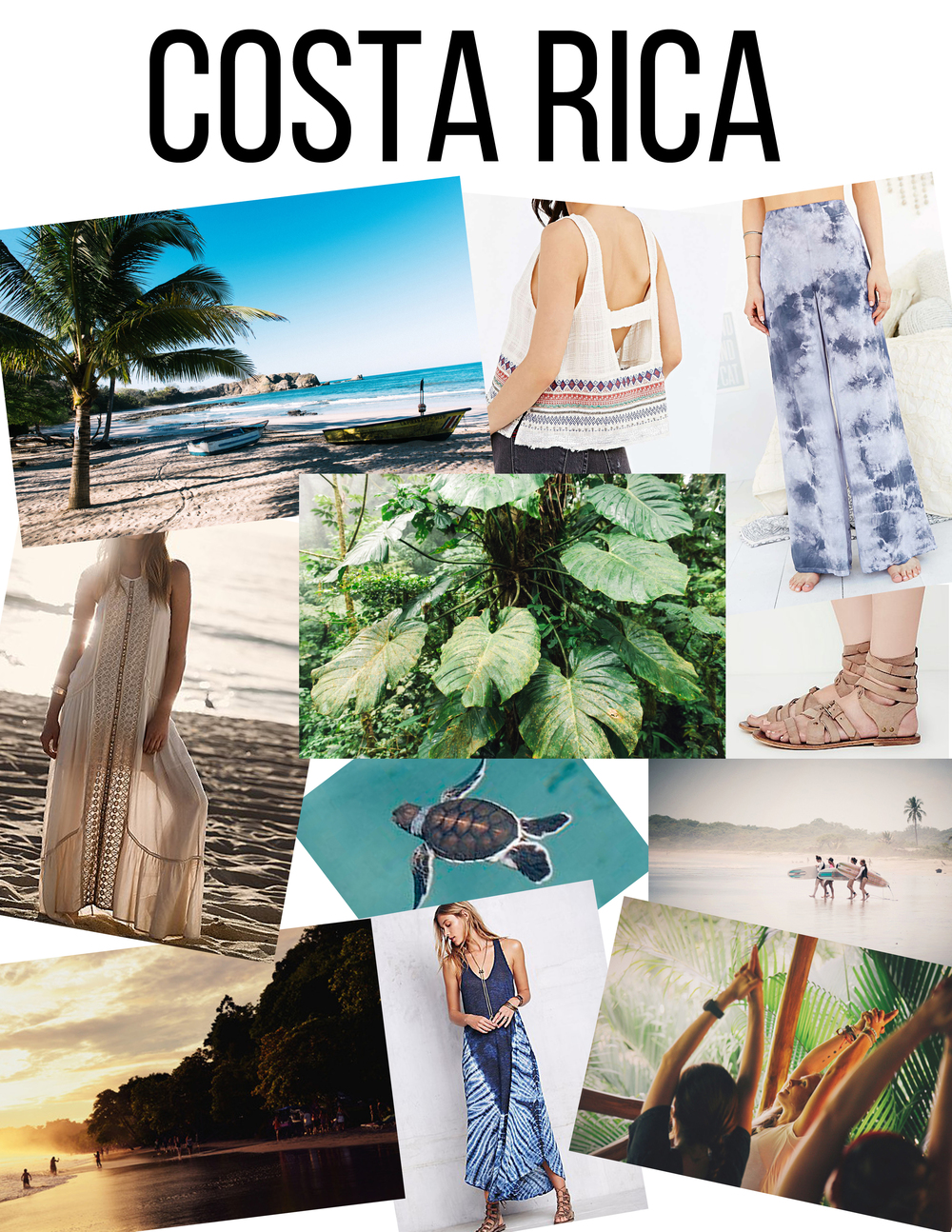 Beach / Tank /  Pants / Dress / Leaves / Sandals / Turtle / Surf / Sunset / Dress / Yoga