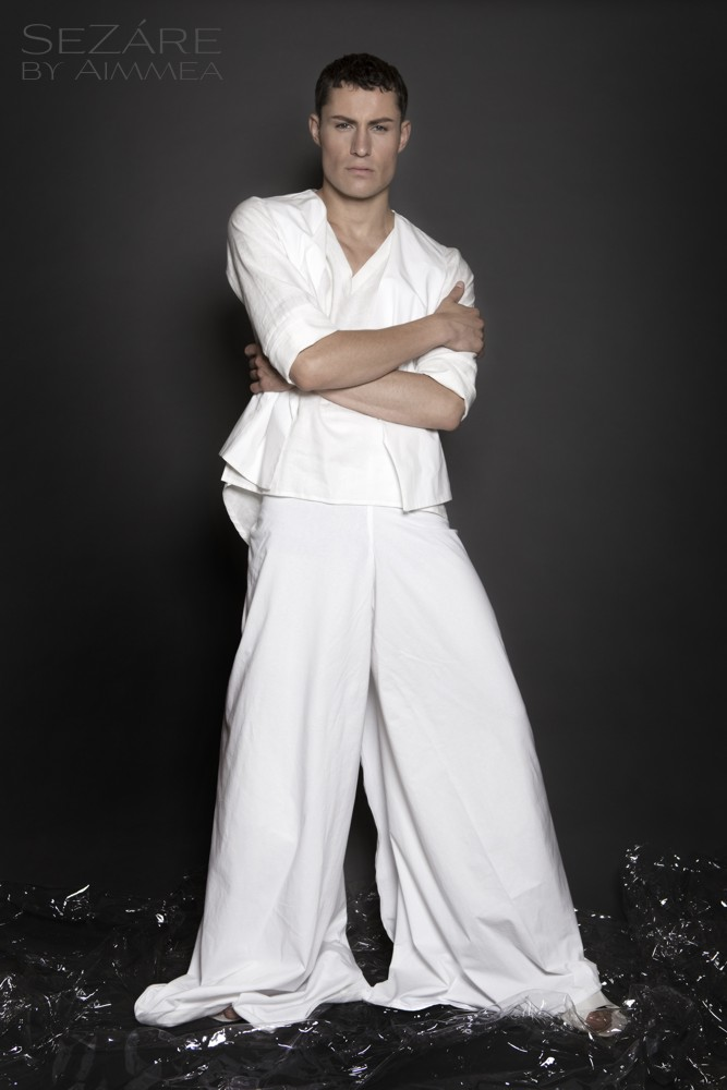 Aimmea - Malcolm Henderson Ice model white  wrap pants.jpg