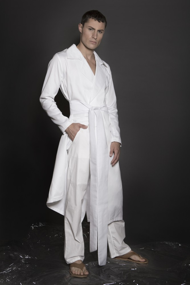 Aimmea - Malcolm Henderson Ice model white trench coat.jpg