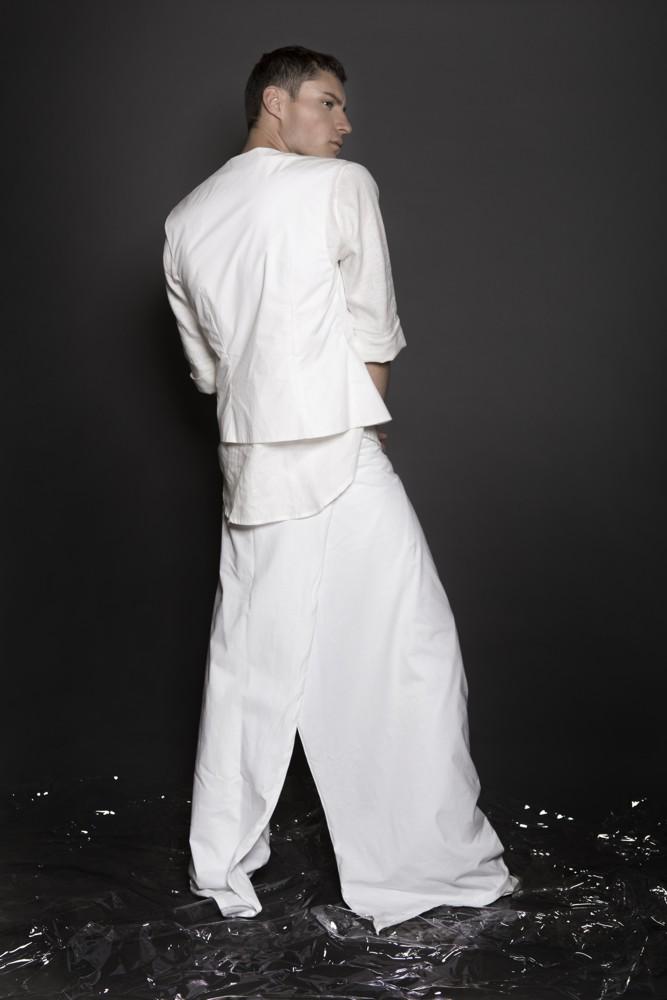 Aimmea - Malcolm Henderson white wrap pants back.jpg