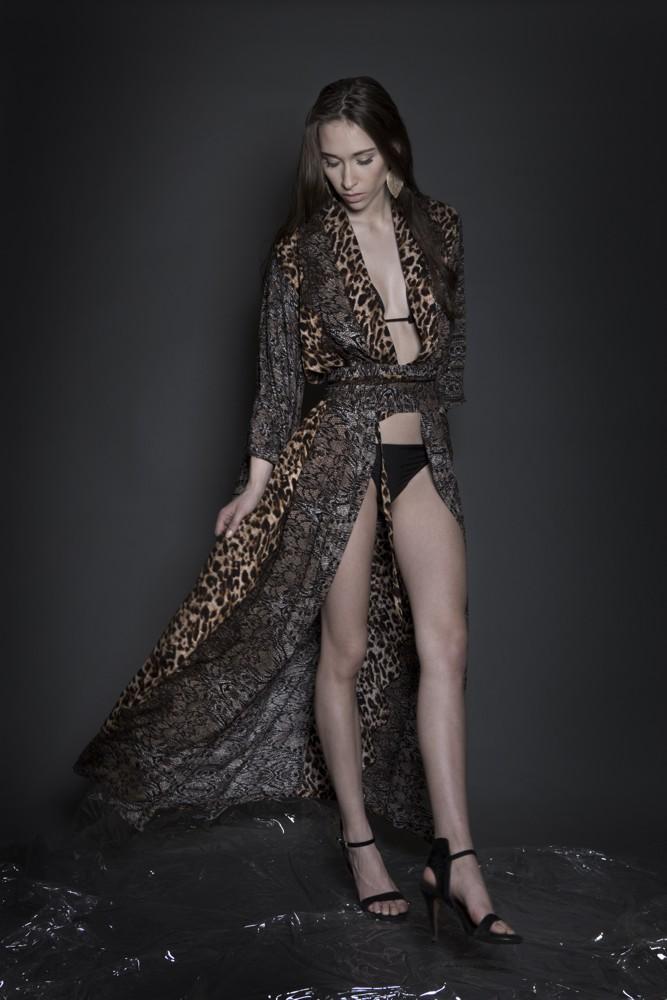Aimmea - brown print kimono I.jpg