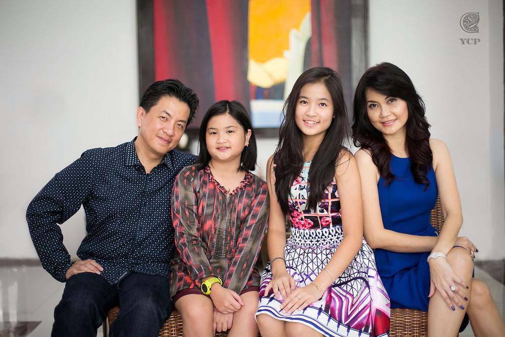 Indoor Family Portrait