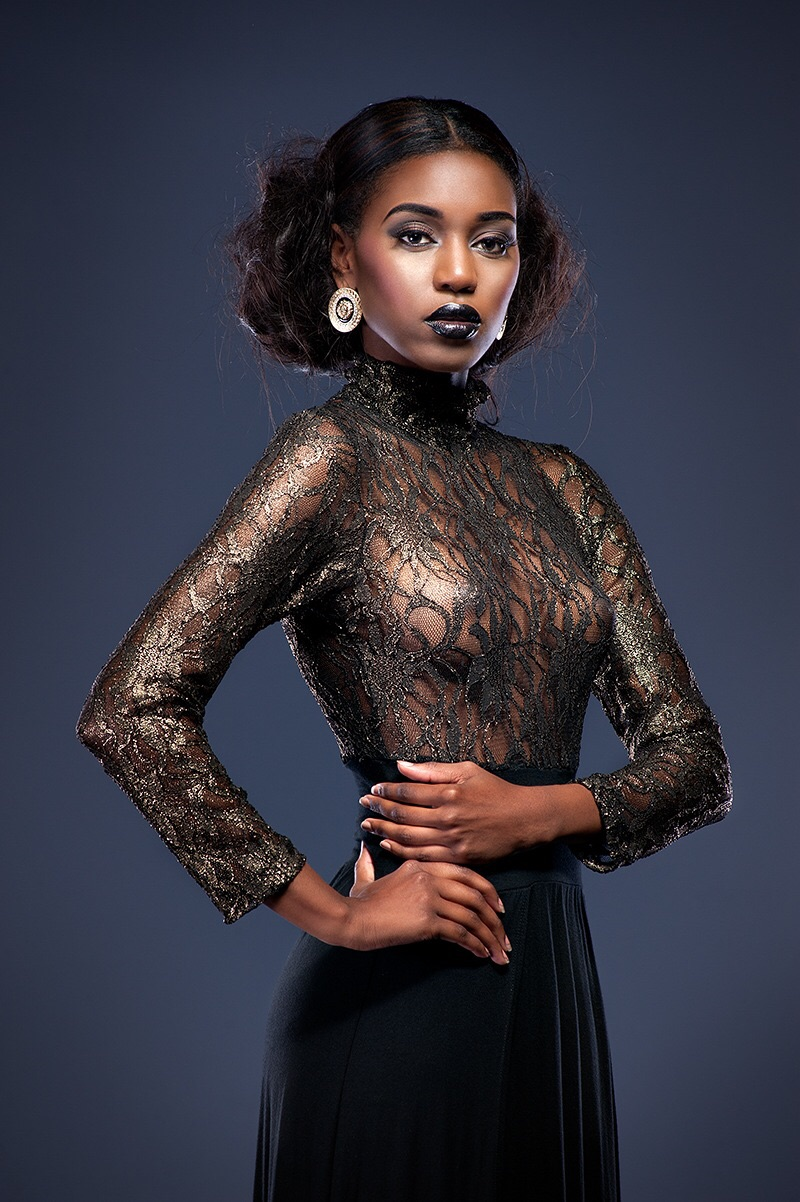 Model: Kiara Pace. MUA: Daphney Paul.