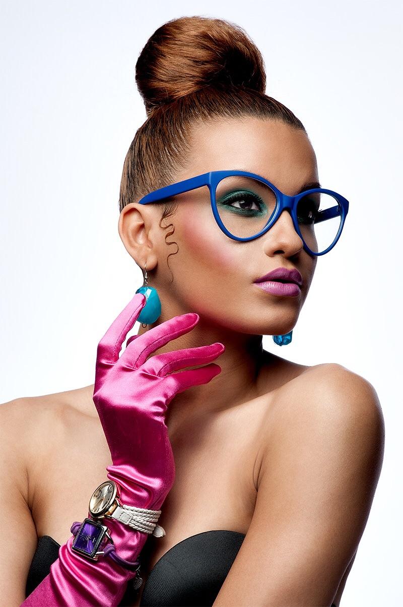 Model: Jenny. MUA and Stylist: Daphney Paul.