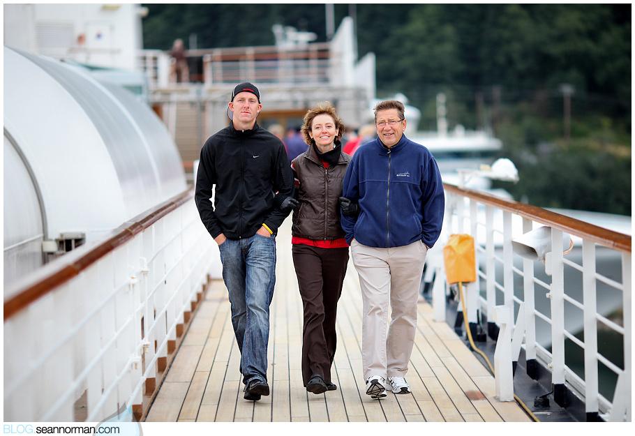 Docked in Juneau!
