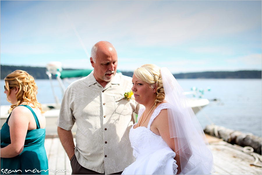 campbell river dolphins resort wedding photography