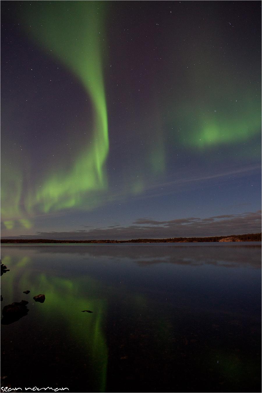 yellowknife aurora borealis