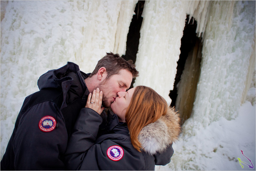yellowknife engagement photography