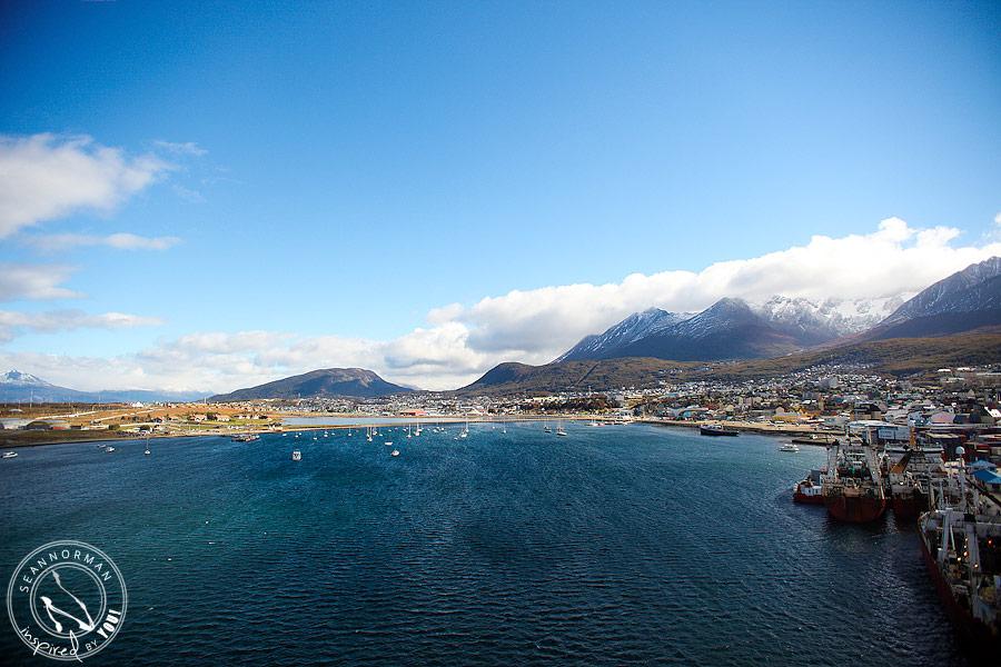holland america veendam south american cruise ushuaia argentina