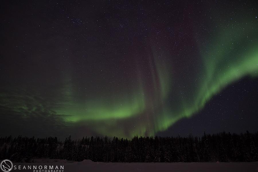 yellowknife northern lights photos