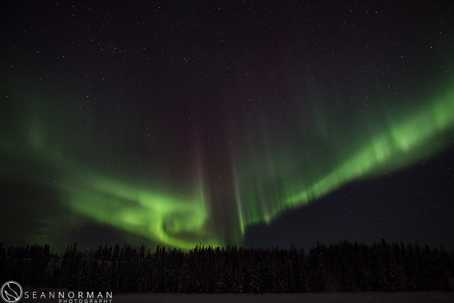 Drive Faster - Yellowknife Northeren Lights on Vee Lake - 22