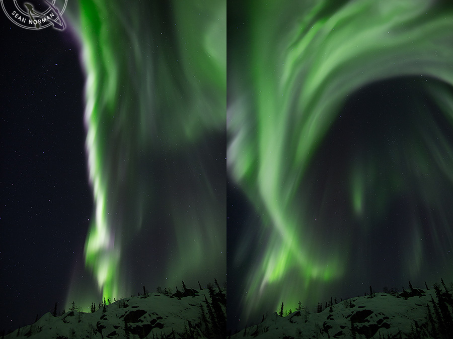 Aurora Borealis above Yellowknife - The Best Show on Earth - 5