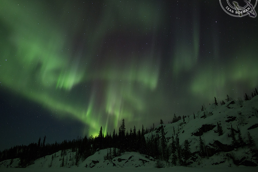 Aurora Borealis above Yellowknife - The Best Show on Earth - 7