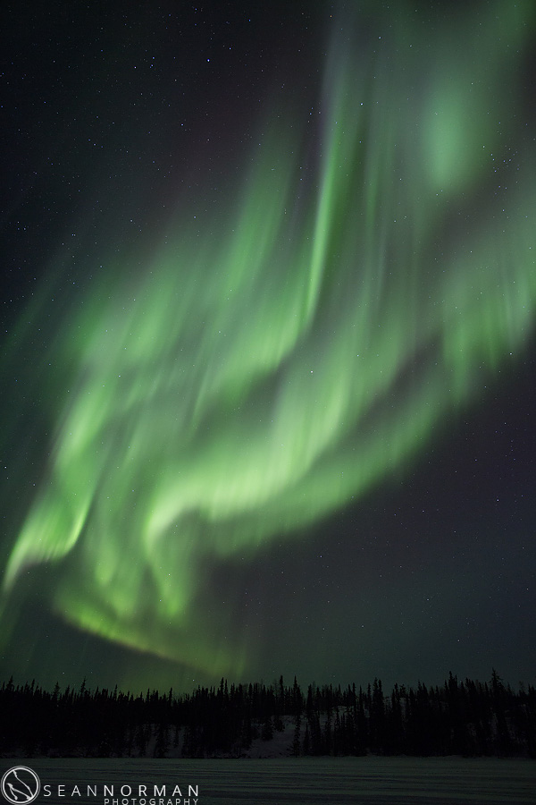 northern lights pictures canada