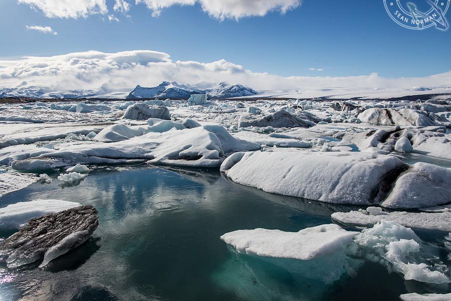 Iceland Jökulsárlón - Walking on Ice Again - 3