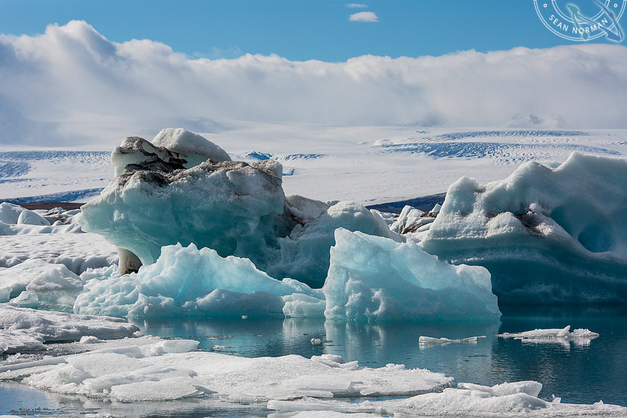 Iceland Jökulsárlón - Walking on Ice Again - 5