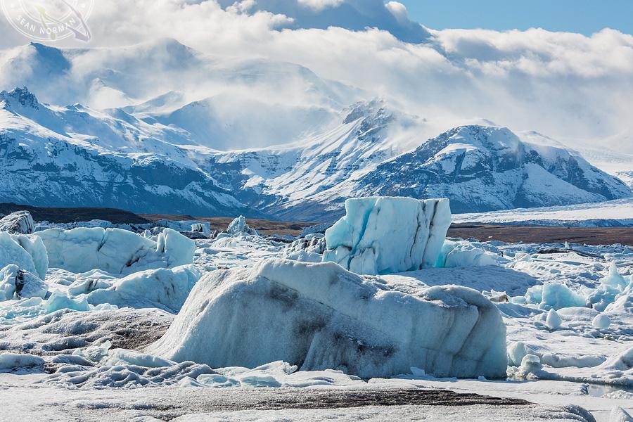 Iceland Jökulsárlón - Walking on Ice Again - 7
