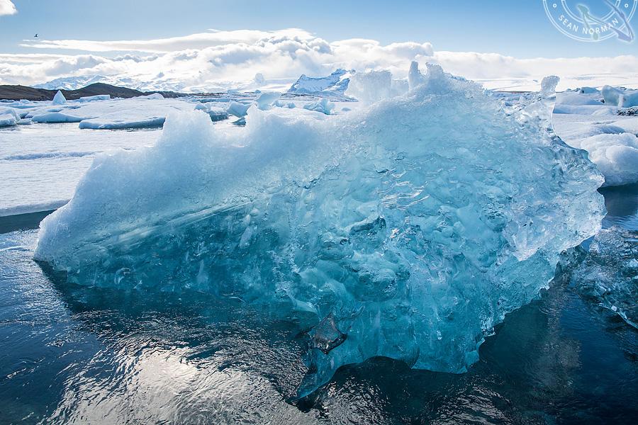 Iceland Jökulsárlón - Walking on Ice Again - 9