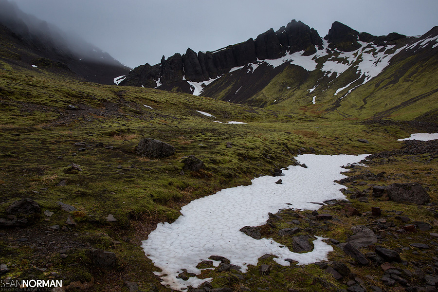 skaftafell national park hike