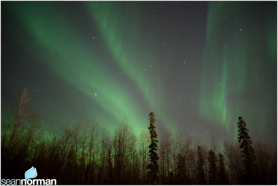 fort nelson bc northern lights