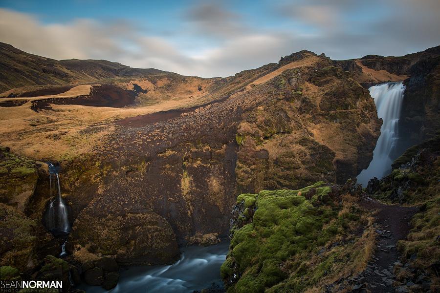 Skogar Iceland - Hiking Waterfalls Above Skogafoss - 8.jpg