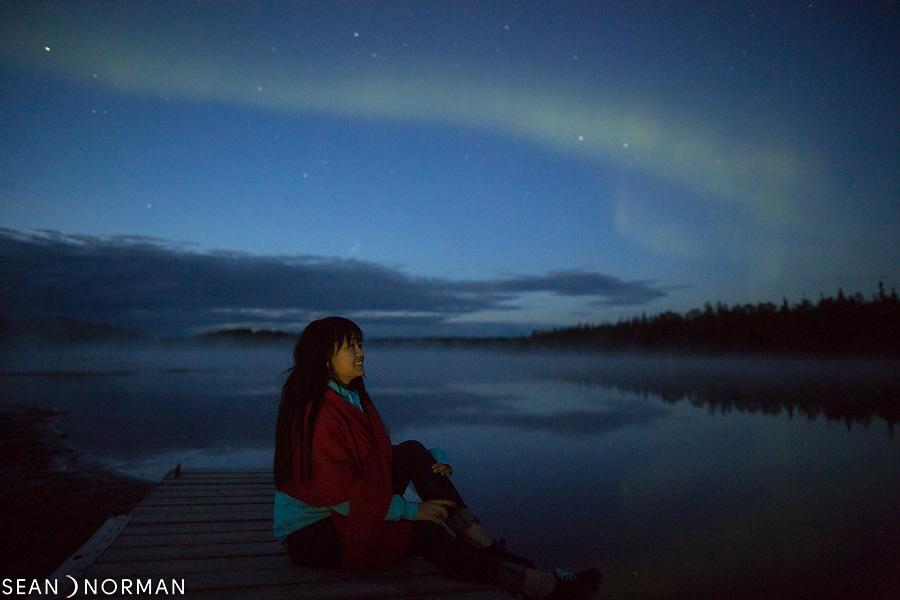 August Nothern Lights in Yellowknife - Sean's Bed & Breakfast - 1.jpg