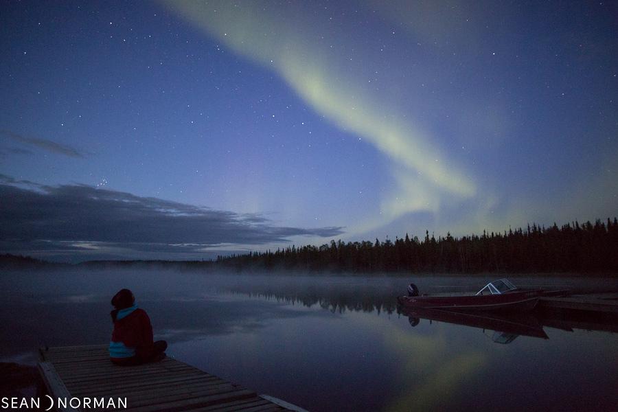 August Nothern Lights in Yellowknife - Sean's Bed & Breakfast - 2.jpg