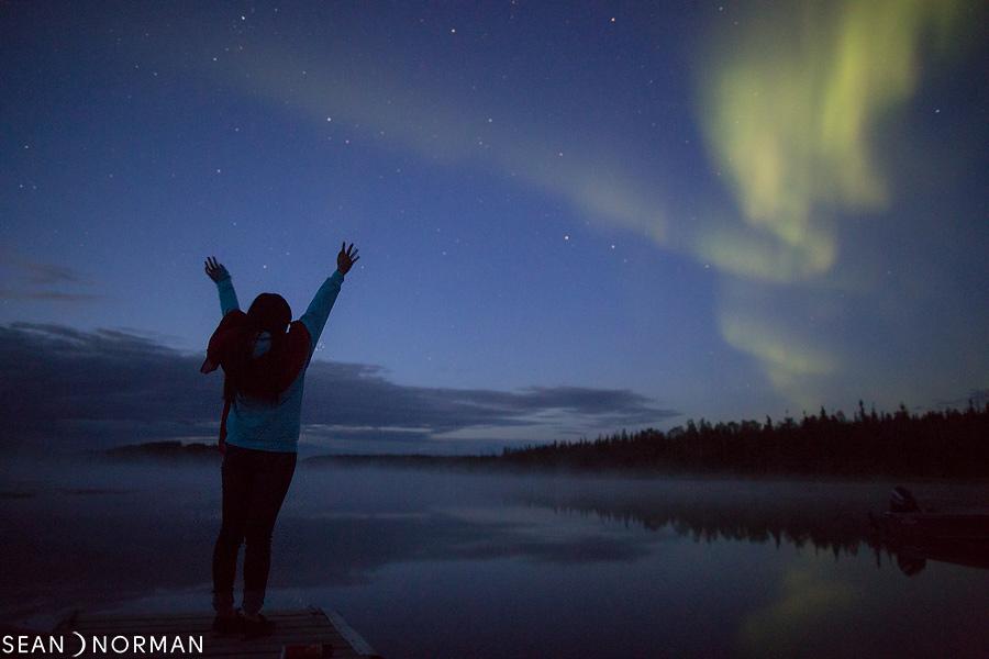 August Nothern Lights in Yellowknife - Sean's Bed & Breakfast - 3.jpg