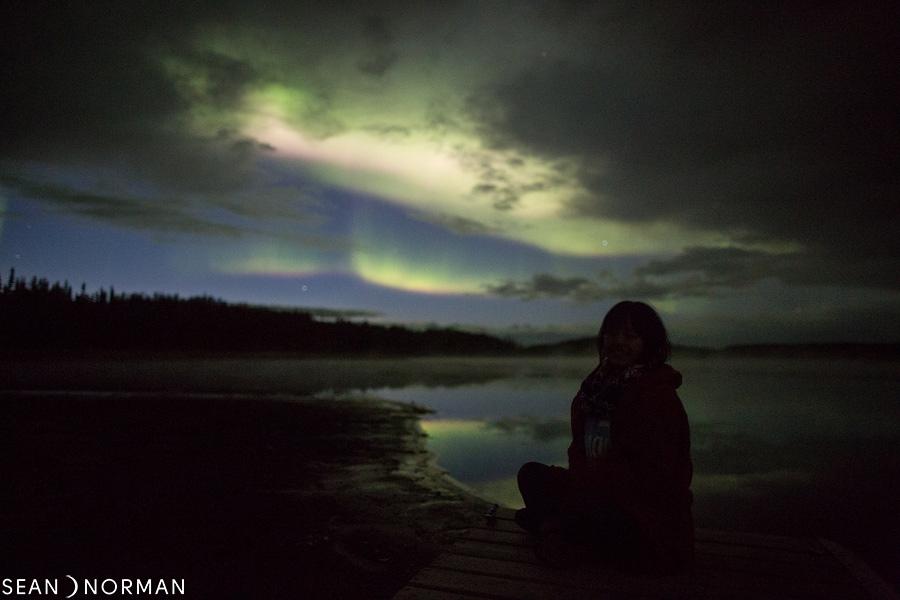 August Nothern Lights in Yellowknife - Sean's Bed & Breakfast - 5.jpg