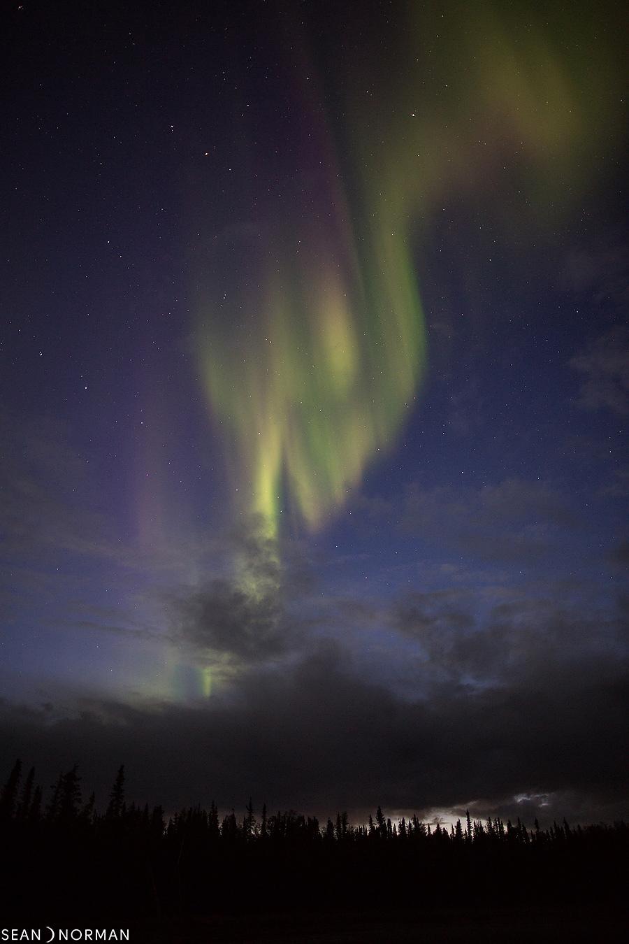 August Nothern Lights in Yellowknife - Sean's Bed & Breakfast - 4.jpg