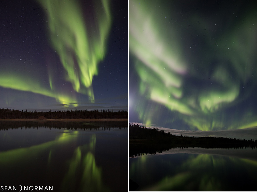 Sean's Guesthouse - Yellowknife Bed & Breakfast - Northern Light Tours Yellowknife - October Aurora - 14.jpg
