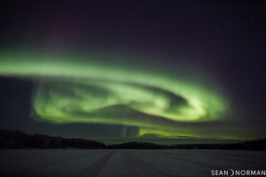 Sean's Guesthouse - Yellowknife Bed & Breakfast - Winter Aurora Photos - 3.jpg