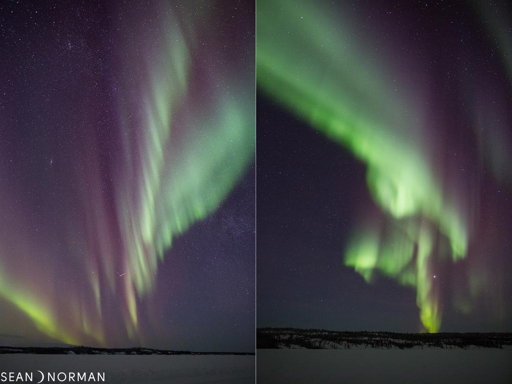 Yellowknife Northern Lights - Sean's Bed & Breakfast - February Aurora - 1.jpg