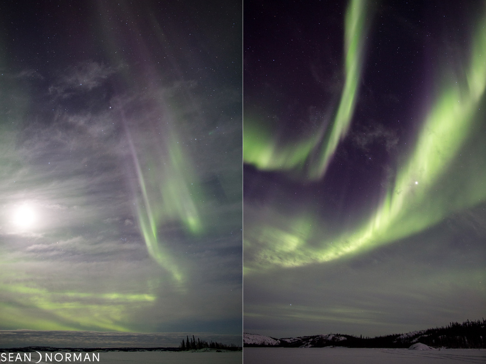 Northern Light Chasing - Sean's Guesthouse - Yellowknife Northern Lights in March - 2.jpg