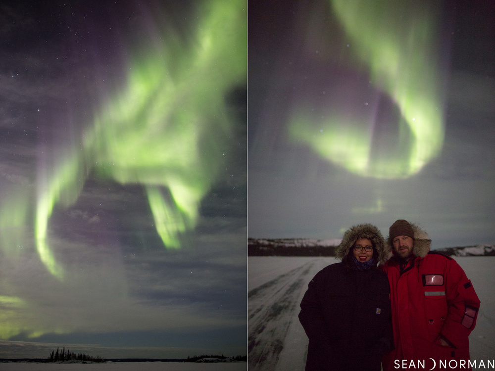Northern Light Chasing - Sean's Guesthouse - Yellowknife Northern Lights in March - 3.jpg