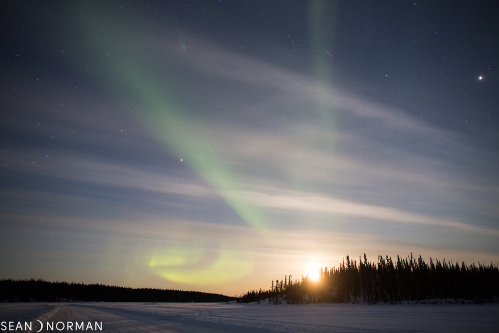 Yellowknife Northern Lights in March - Sean's Guesthouse - Yellowknife B&B - 2.jpg