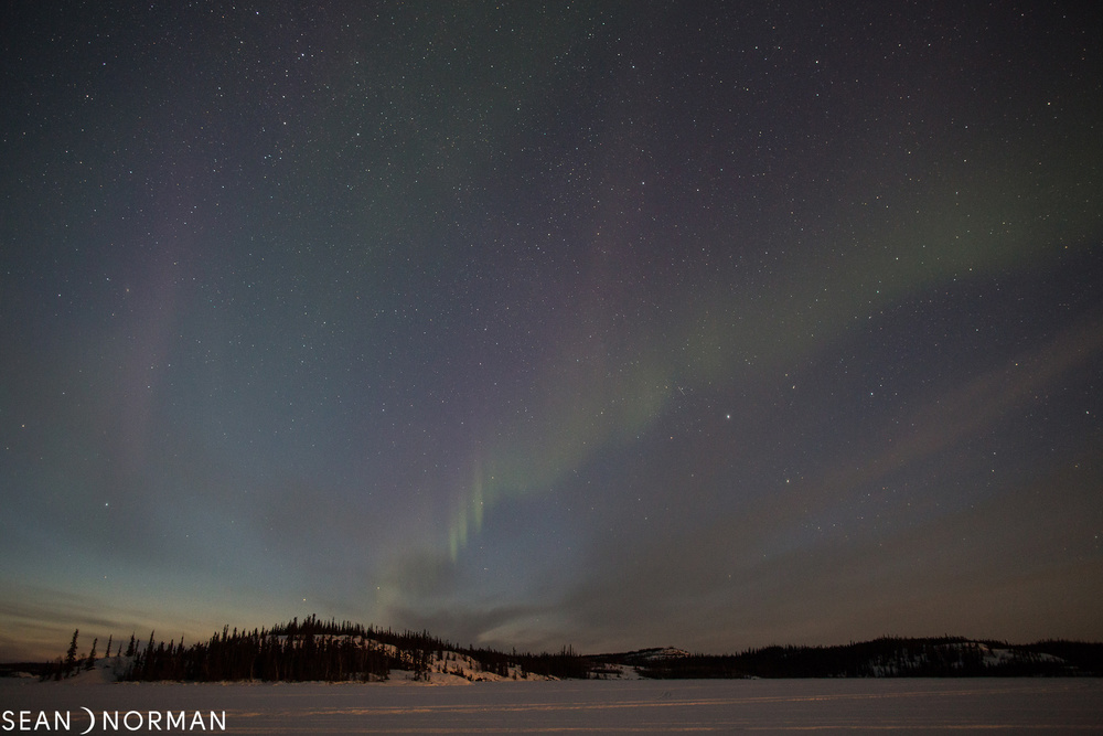Yellowknife Northern Lights in March - Sean's Guesthouse - Yellowknife B&B - 1.jpg
