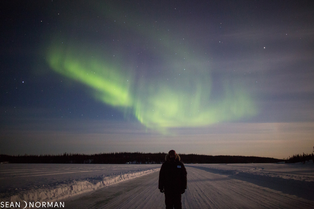 Yellowknife Northern Lights in March - Sean's Guesthouse - Yellowknife B&B - 3.jpg