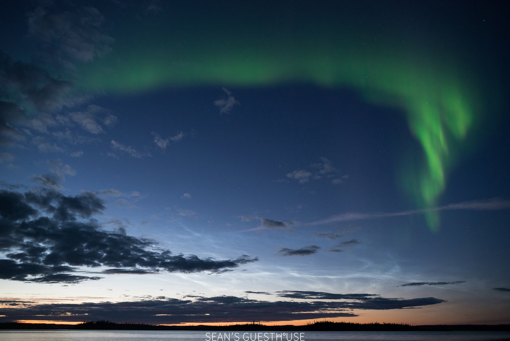 Yellowknife Northern Lights Tours - Sean's Guesthouse - B&B Accommodation - August Aurora - 2.jpg