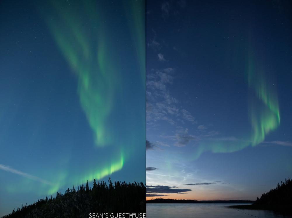 Yellowknife Northern Lights Tours - Sean's Guesthouse - B&B Accommodation - August Aurora - 3.jpg